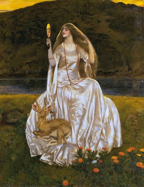 "Frank Cadogan Cowper (1877– 1958), ""The Damsel Of The Lake"""