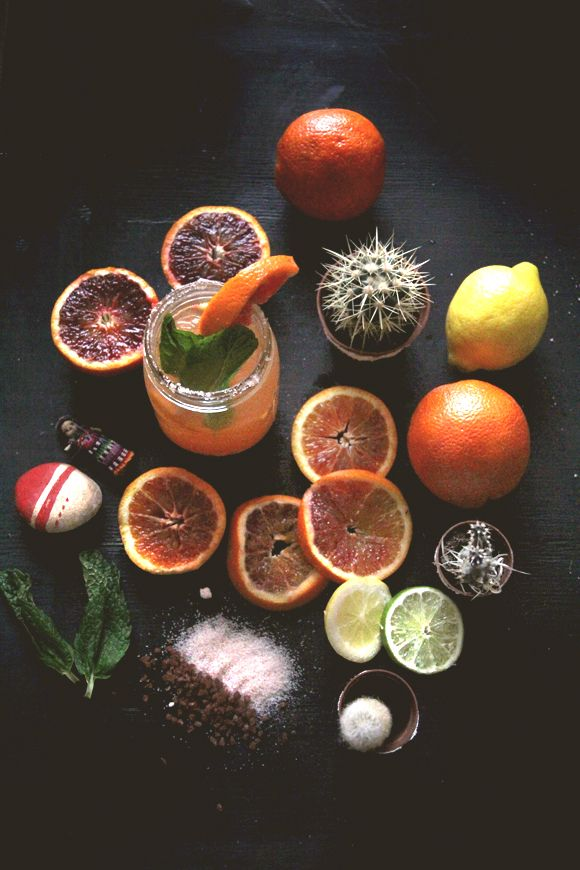 Blood Orange Margarita for Cinco De Mayo - Free People Blog