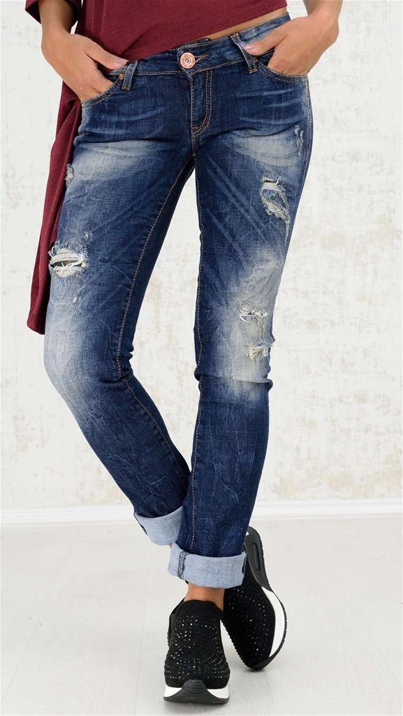 Blue Jean παντελόνι | Χειμερινή Collection 2016 | Potre - 49,9€