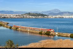 RailPictures.Net Photo: 520/252 OSE Hellenic Railways Organization AEG at Chalkis central Greece, Greece by Kostas Kakavas