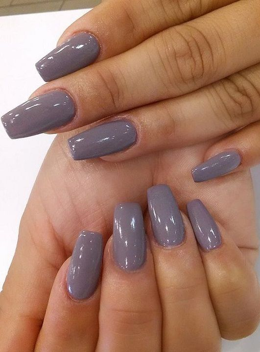 Light Blue Acrylic Nails Coffin Matte