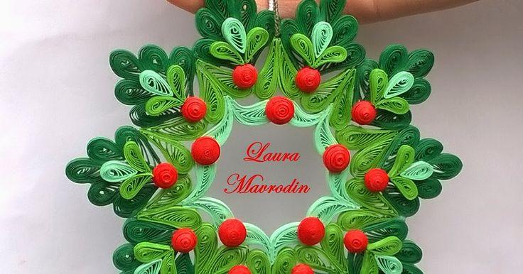 quilling my passion: Ornament pentru Craciun