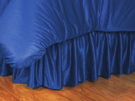 Kentucky Wildcats Bed Skirt, starting at  $29.95 at MySportsDecor.com. Great for your bedroom, a kid's bedroom, or a dorm room. http://www.mysportsdecor.com/kentucky-wildcats-bed-skirt.html... #kentuckywildcats #kentuckywildcatsbedding #kentuckywildcatsbedskirt