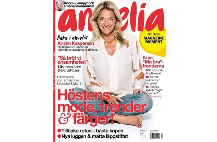 Höstens modetrender hittar du i nya numret av amelia!