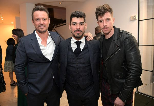 (L-R) David Lyons, Raul Castillo, and Beau Knapp attend Netflix's 'Seven Seconds' Premiere screening and post-reception in Beverly Hills, CA on February 23, 2018 in Beverly Hills, California.