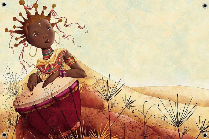 Африканские мотивы.. Обсуждение на LiveInternet - Российский Сервис Онлайн-Дневников