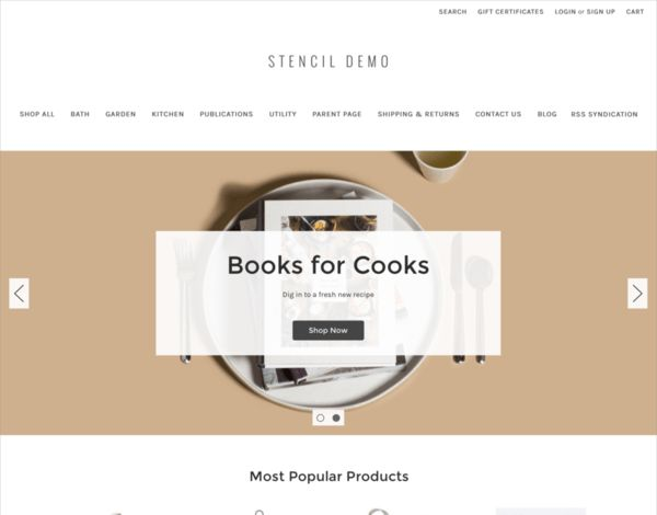 The Absolute Best Free BigCommerce Themes - Cornerstone Light