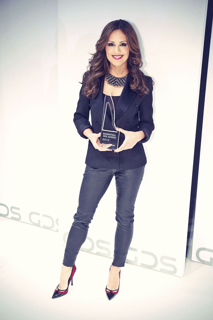 Nazan Eckes attends Shoe Woman awards of the Year 2014 at the GDS Shoe Fair in Dusseldorf 12-03-2014