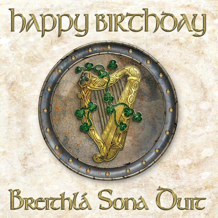 Happy birthday in Irish Irish gaelic, Irish birthday