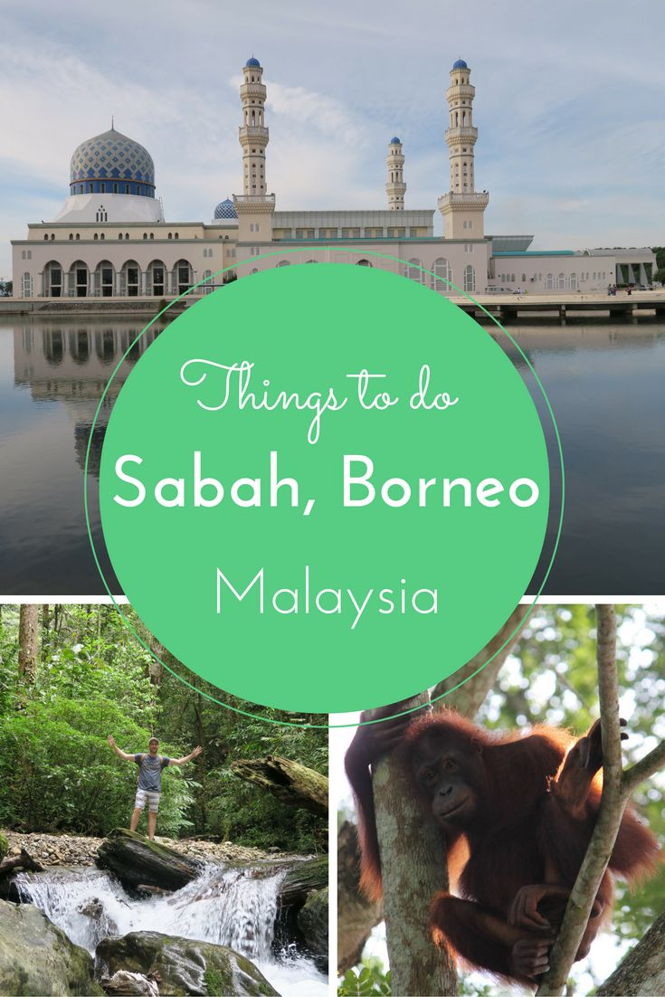 A sample itinerary for Sabah, Borneo in Malaysia. Top things to do in Sabah, Borneo.
