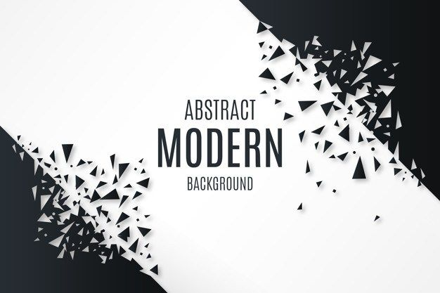 Abstract Background With Broken Shapes Free Vector Vector Free