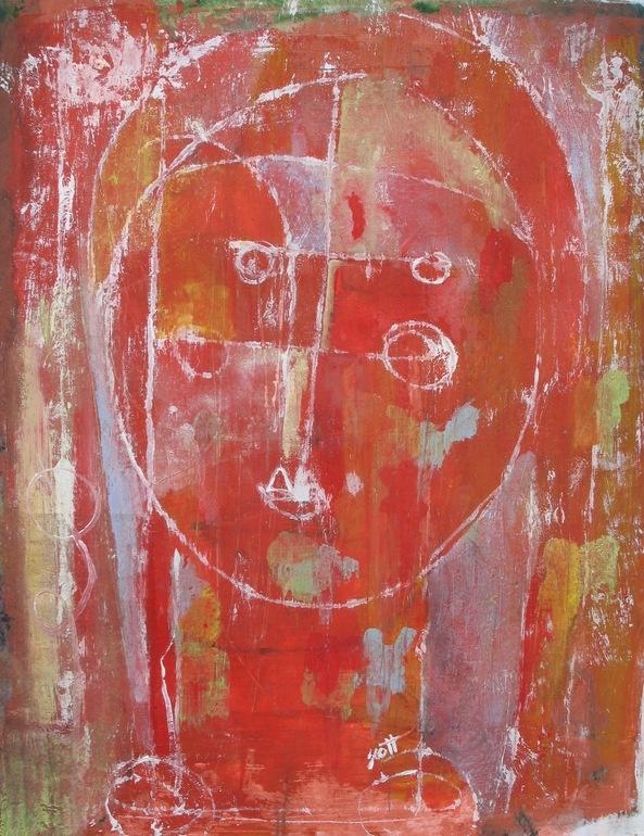"Saatchi Online Artist: Scott Bergey; Acrylic, 2010, Painting ""Special"""