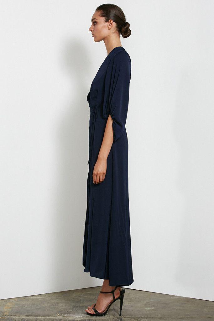 Shona Joy - Monique Long Sleeve Wrap Dress