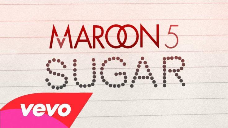 Maroon 5 - Sugar (Lyric Video)