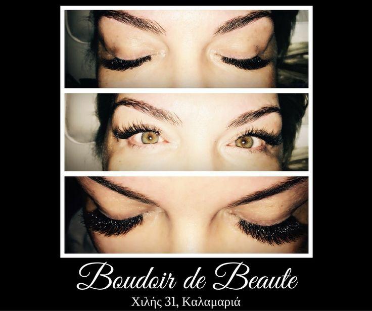 Αυτές τις γιορτές σε κάνουμε να ξεχωρίζεις! #3D #eyelashes & #microblading #eyebrows #tattoo ! #beautysalon   #boudoirdebeaute   #kalamaria   #thessaloniki