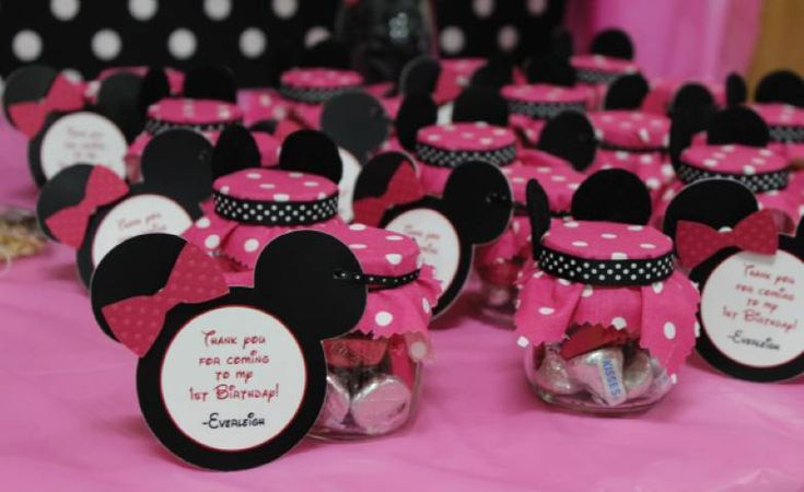 recuerdos se baby shower de minnie mouse