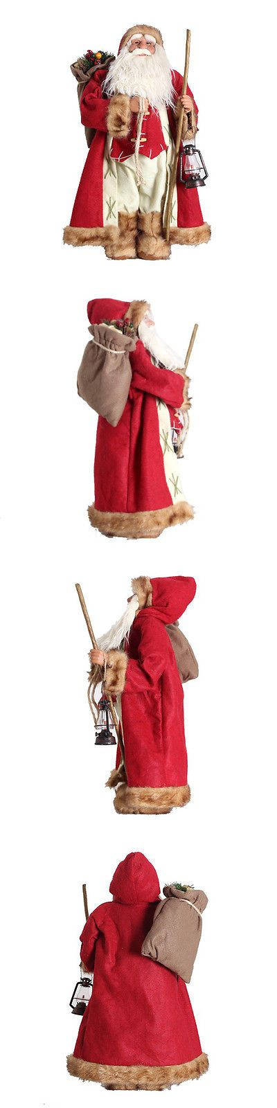 Other Weaving Supplies 3125: Delicate Christmas Crafts Santa Figurine Santa Claus Collection -> BUY IT NOW ONLY: $68.99 on eBay!