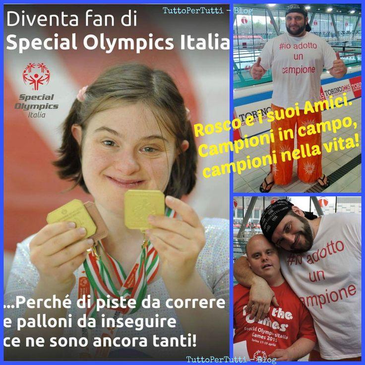 TuttoPerTutti: ROSCO E I SUOI AMICI: CAMPIONI IN CAMPO, CAMPIONI NELLA VITA! #ioadottouncampione Un esempio a seguire! http://tucc-per-tucc.blogspot.it/2015/04/rosco-e-i-suoi-amici-campioni-in-campo.html