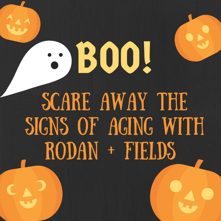 Happy Halloween!  Trick or Treat with Rodan and Fields. www.pajamamarketer.com