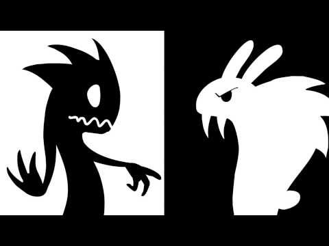 Black and white short animation youtube