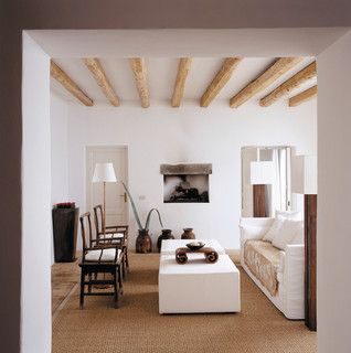 love the simple colors of whites with neutrals