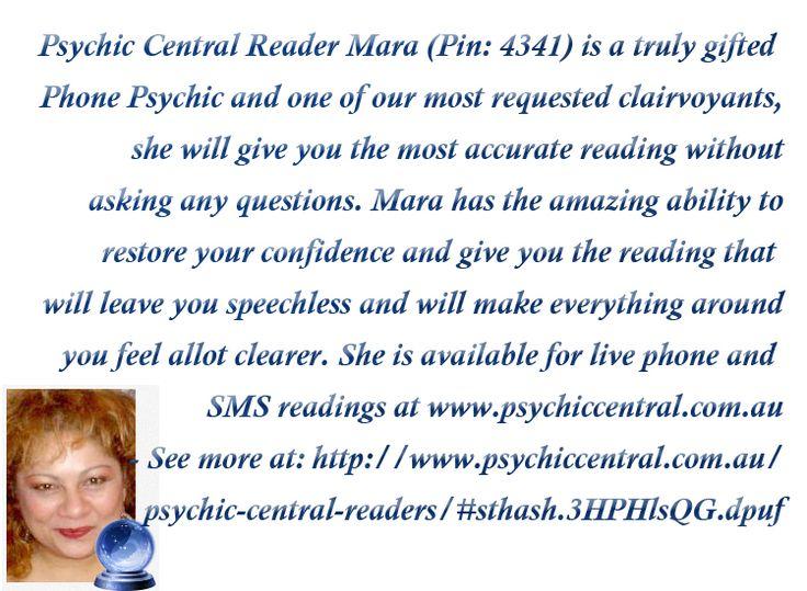 Psychic Central Reader Mara (Pin: 4341) http://www.psychiccentral.com.au/psychic-central-readers/#sthash.3HPHlsQG.dpuf