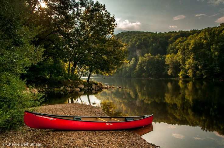 Photograph Canoeing Dordogne river by Charlie Delhumeau on 500px