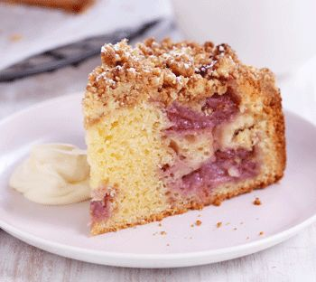 Thomas Dux - Strawberry Crumble Cake