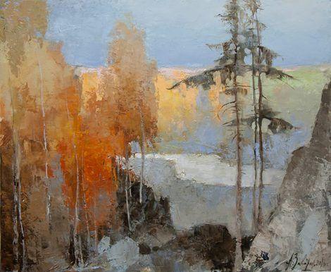 Alexandr Zavarin, White River, 2016 on ArtStack #alexandr-zavarin #art