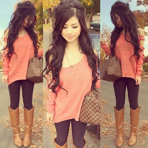 Love this outfit... and her hair! find more women fashion ideas on www.misspool.com