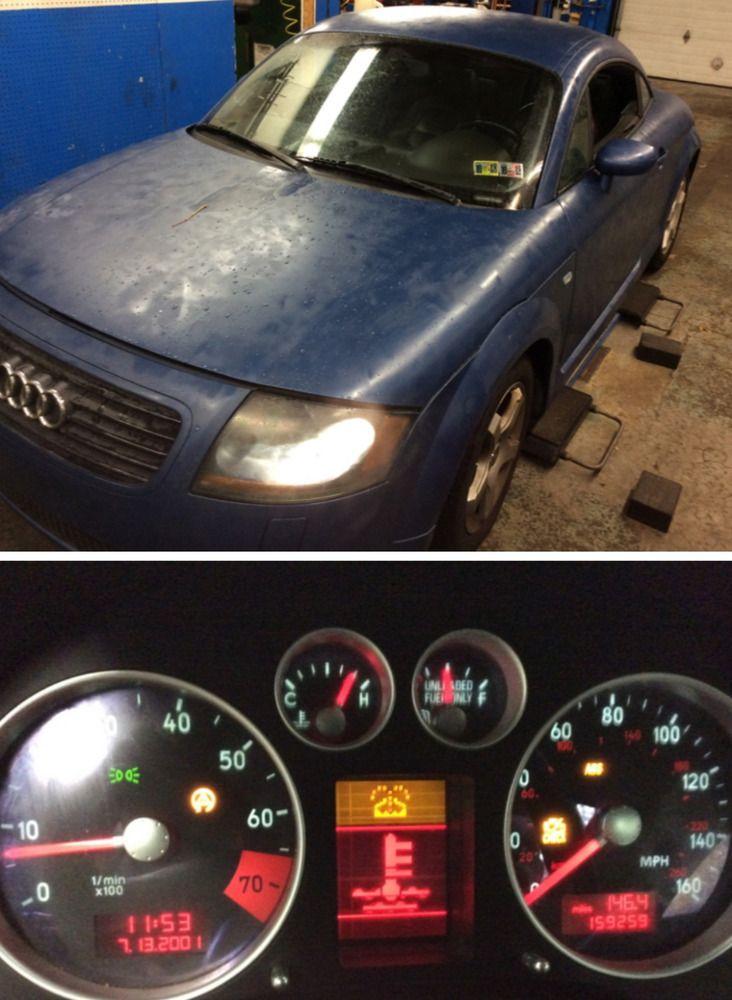 Ebay 2000 Audi Tt Turbo 2000 Audi Tt No Reserve Easy Project Car