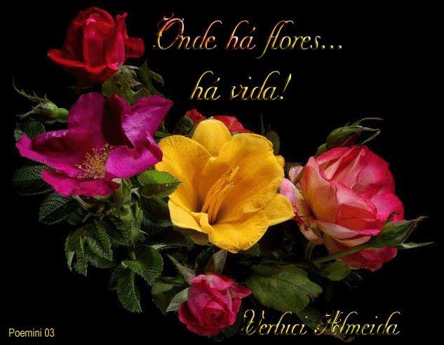 Poemini 03 Onde há flores... há vida!