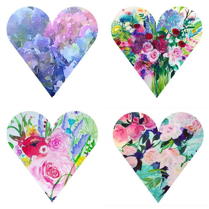 Little hearts again, By Carol Clough