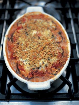 This classic northern Italian recipe is a great way to serve aubergines. By layering them with Parmesan and tomatoes and then baking them you get an absolutely moreish, scrumptious vegetable dish. Great served with all sorts of roasted meats and with roasted fish as well.