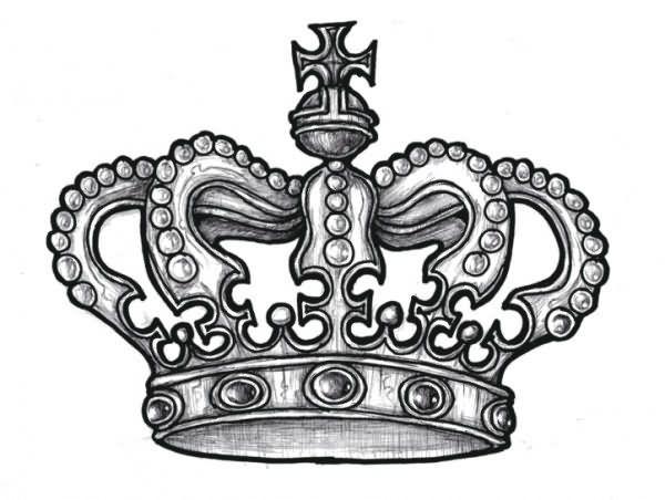 Stencil King Crown: 22 Best Crown Tattoo Stencils Images On Pinterest