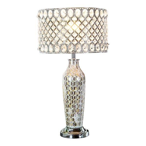 River Of Goods Pearl Crystal Table Lamp Lamp Crystal Table Lamps Table Lamp