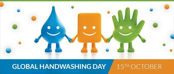 "Global Handwashing Day  - Celebrated annually on October 15, Global Handwashing Day was founded by the Global Public-Private Partnership for Handwashing, and is an opportunity to design, test, and replicate creative ways to encourage people to wash their hands with soap at critical times. The 2016 Global Handwashing Day theme is ""Make Handwashing a Habit!"" #October15th #GlobalHandwashingDay2016"