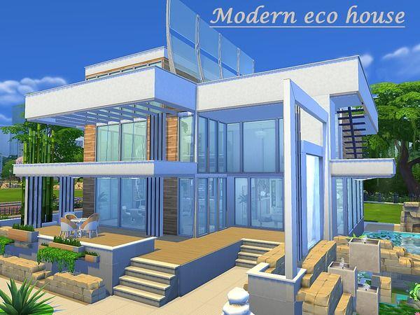 Sims House S Modern Eco House Sims House Sims Building Eco House Design