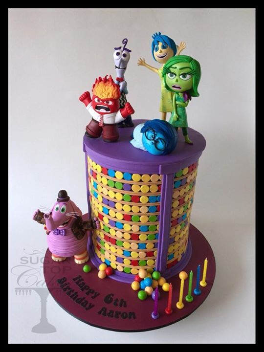 Edible Art | Inside Out Cake by Sugar Top Cakes
