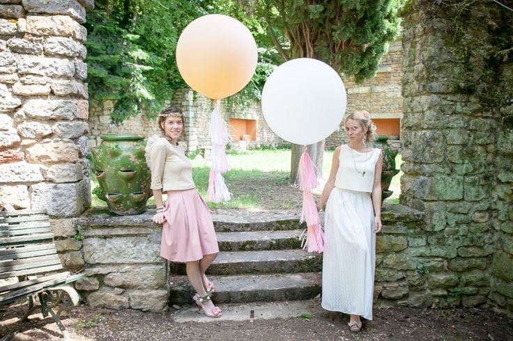 {SHOOTING D'INSPIRATION mariage} GIRLS JUST WANT TO HAVE FUN à découvrir sur le blog