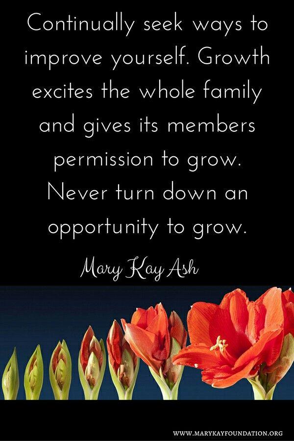 Mary Kay Ash #growth