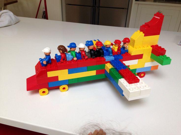 Lego vliegtuig