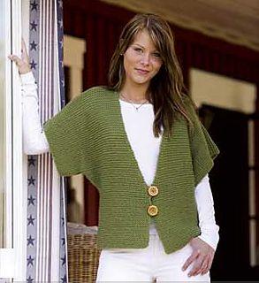 5-08 Fast Knit Vest pattern by Camilla Krogsgaard