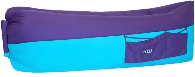ENO Billow Air Lounge Inflatable Couch Purple/Teal