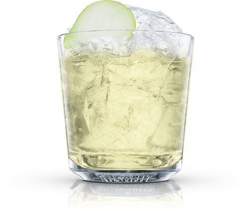 Absolut Pear Drop - 2 parts absolut pear vodka, 1/2 part freshly squeezed lemon juice, 1/2 part sugar syrup