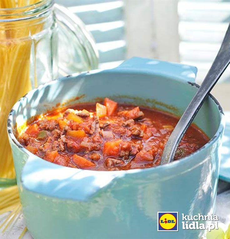 Sos bolognese. Kuchnia Lidla - Lidl Polska #kuchniawloska bolognese