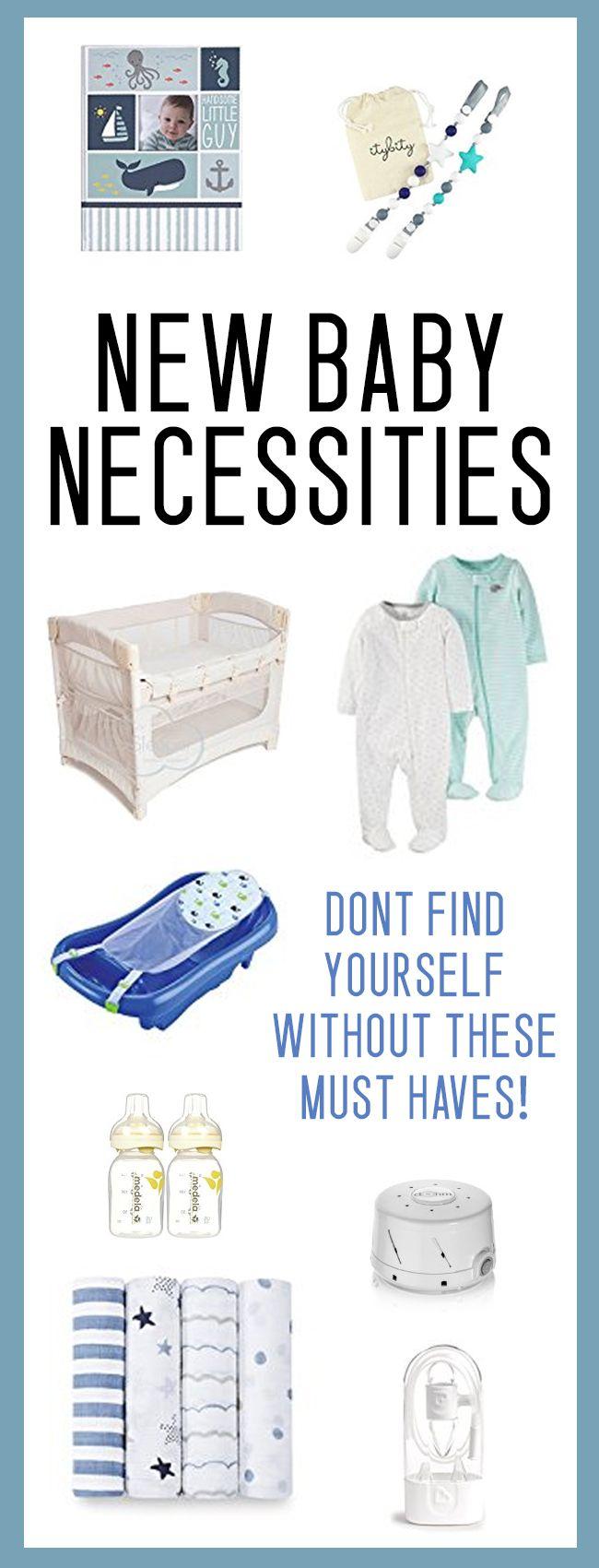 GREAT baby shower gift ideas / new baby necessities list!