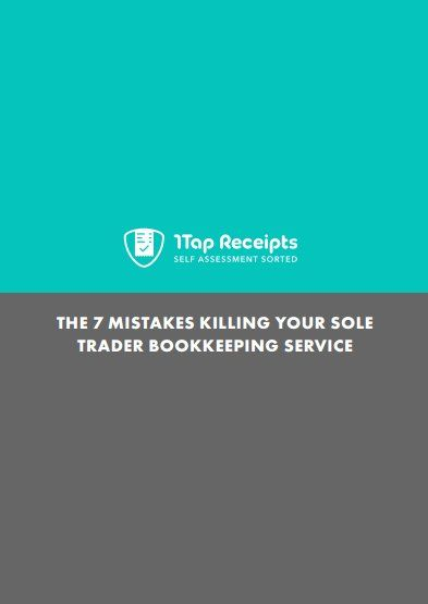 The 7 Mistakes killing your sole trader bookkeeping service