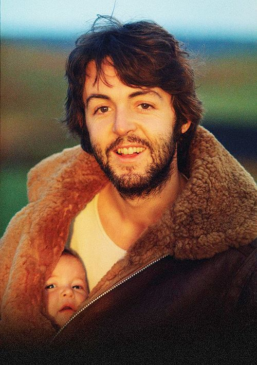 Paul and Stella McCartney. Photo: Linda McCartney.
