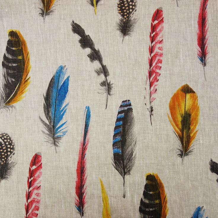 Plume Feather Fabric